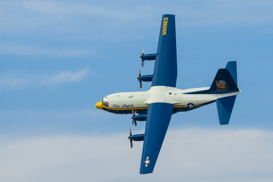 Blue Angels' Fat Albert