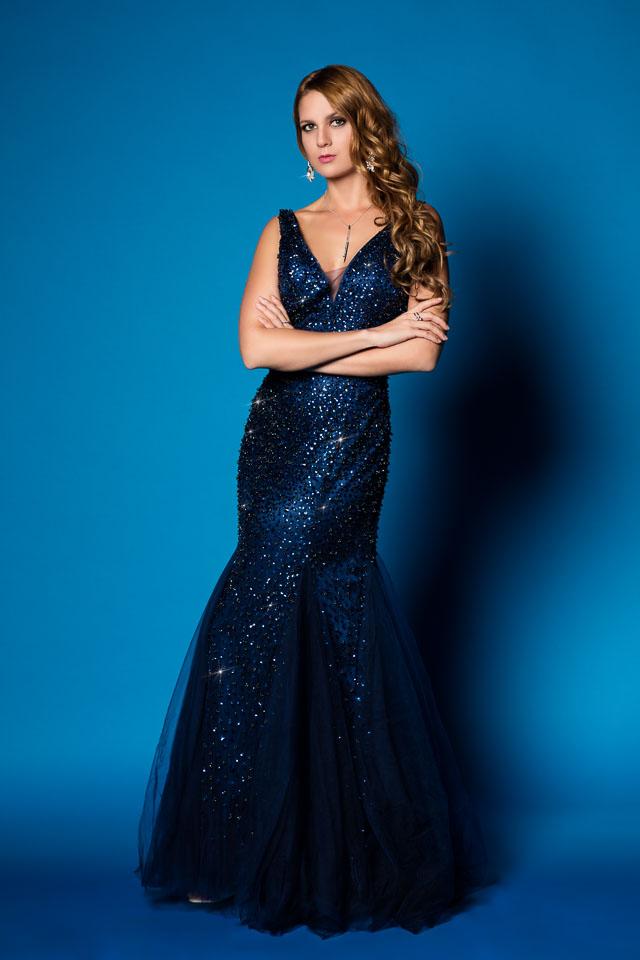Magalie in Royal Blue