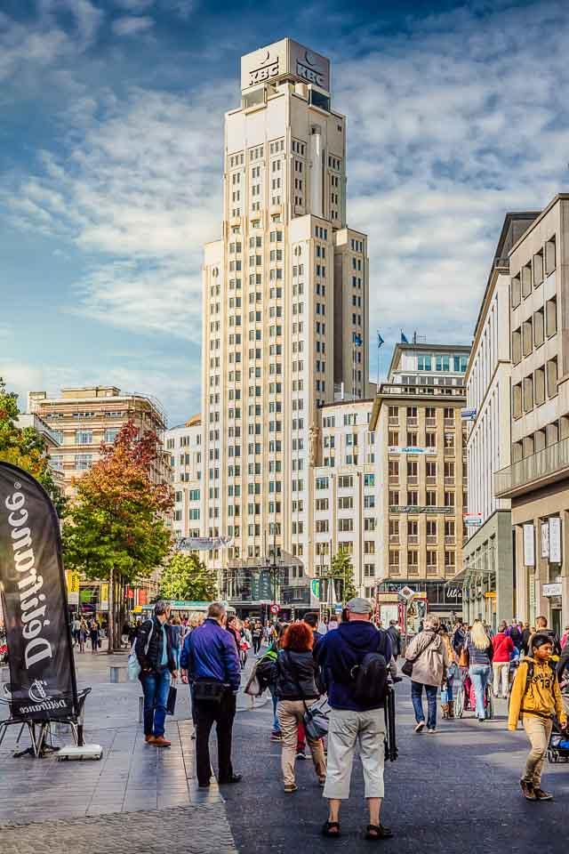 KBC Tour in Antwerp