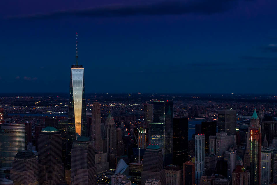 One World Trade Center from FlyNYON
