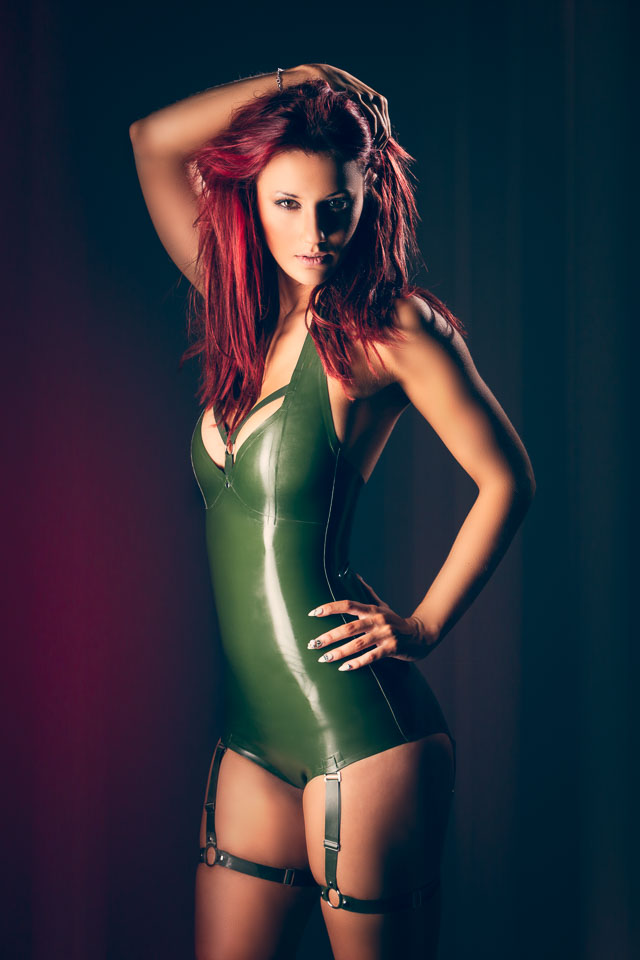 Halina in a Latex Body by Pandora Deluxe