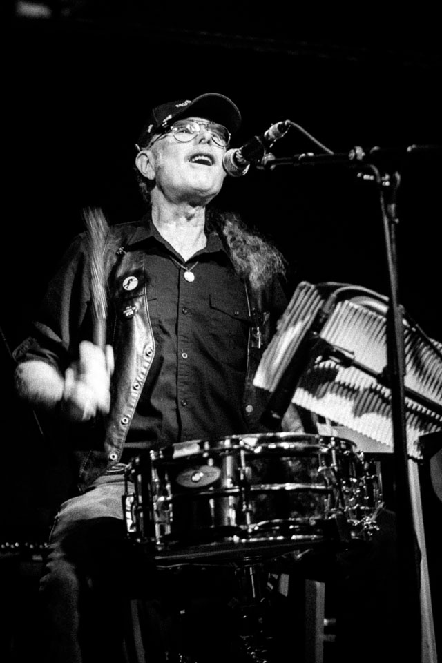 Drummer Vinnie Lopez played with Bruce Springsteen
