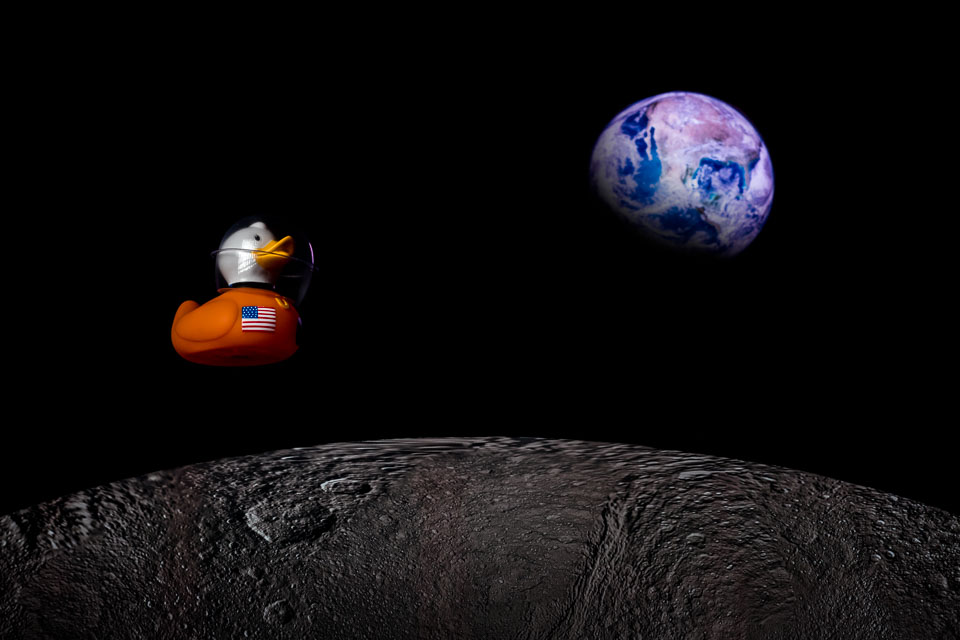 Astro Duckie Pays Tribute To NASA's Apollo 8
