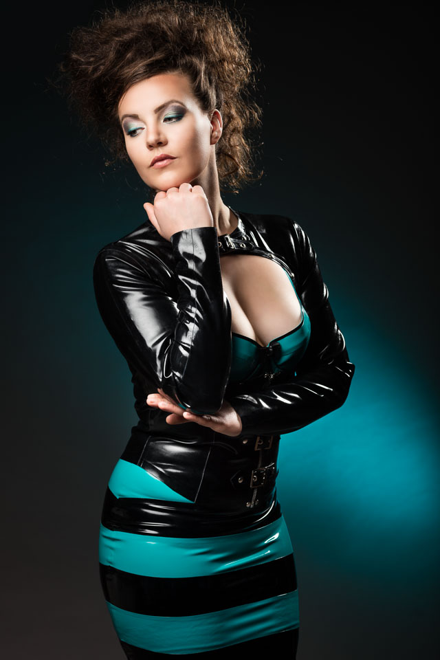 Eva in Westward Bound Latex