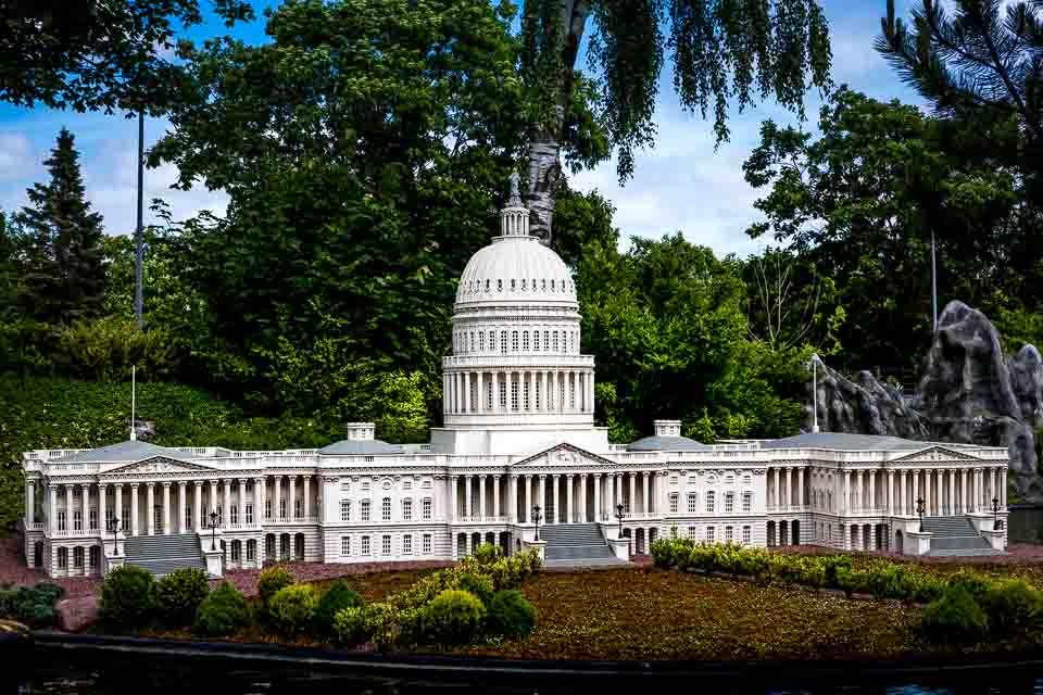 US Capitol at Legoland Danmark