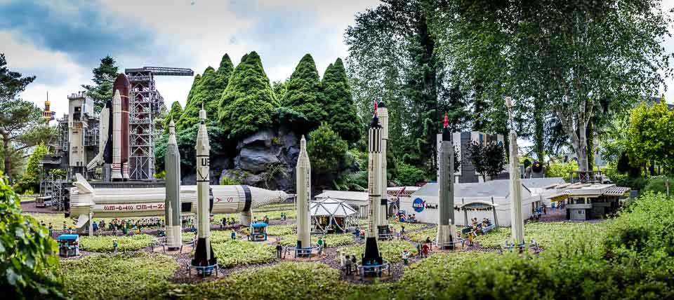 NASA Rocket Garden at Legoland Danmark