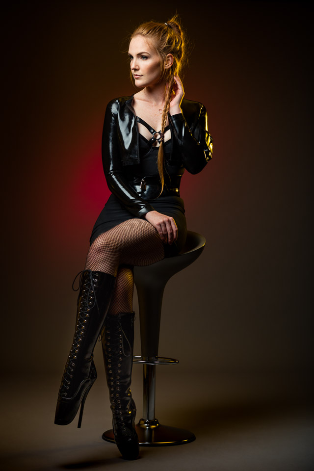Latex Outfit by Pandora Deluxe, Simon O & Meat