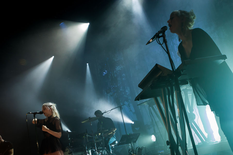 Norwegian Singer-Songwriter Aurora Performing at Le Botanique Brussels