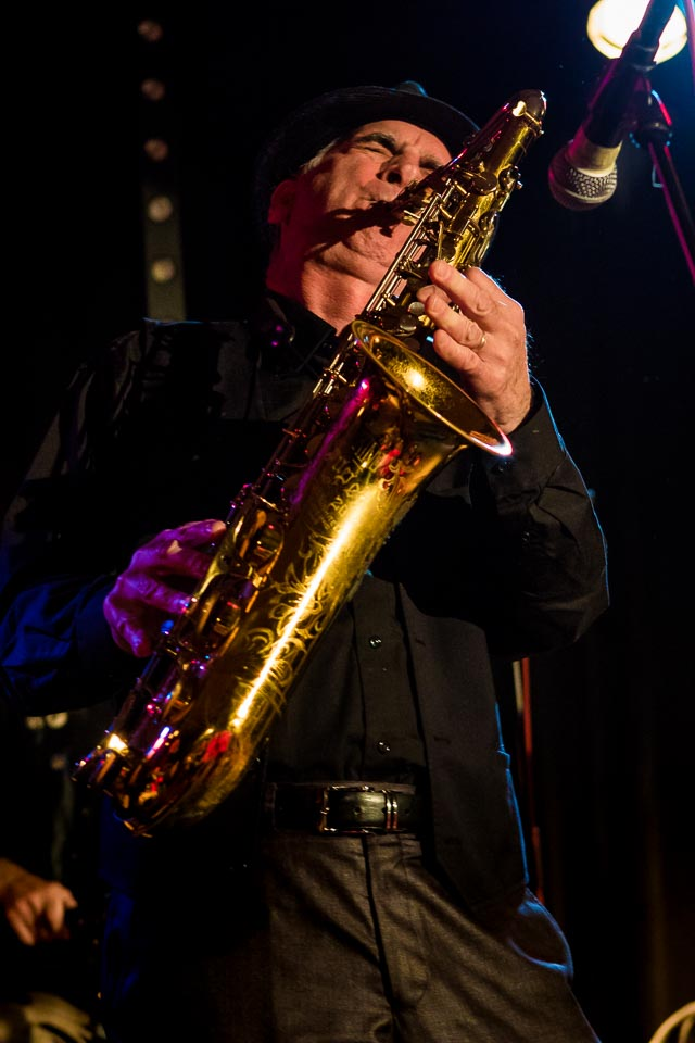 Eddie Manion, former sax player with Bruce Springsteen's E Street Band, joins LoD for the 2nd year