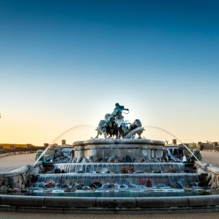 Gefion Fountain, Copenhagen, Danmark