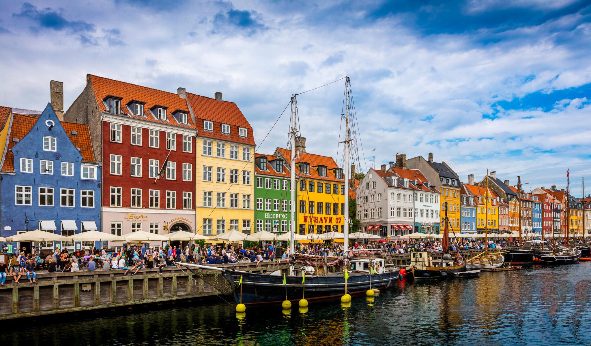 Nyhaven, Copenhagen, Danmark