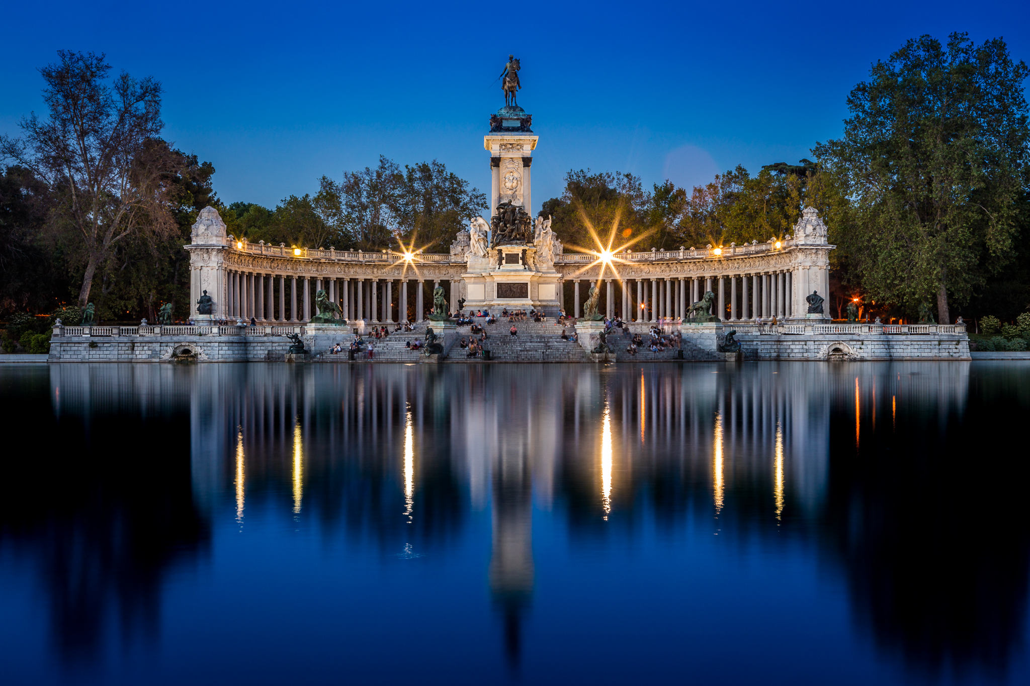 Monumento Alfonso XII, Madrid, Spain