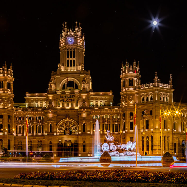 City Hall, Madrid, Spain
