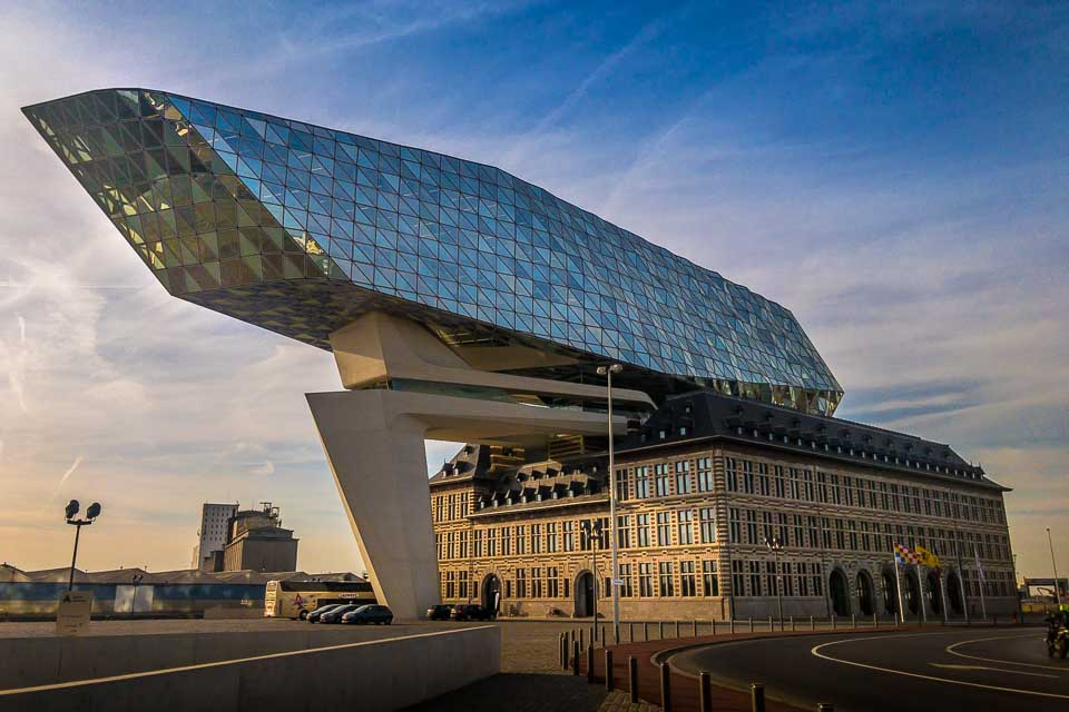 Antwerp Port House by Zaha Hadid Architects