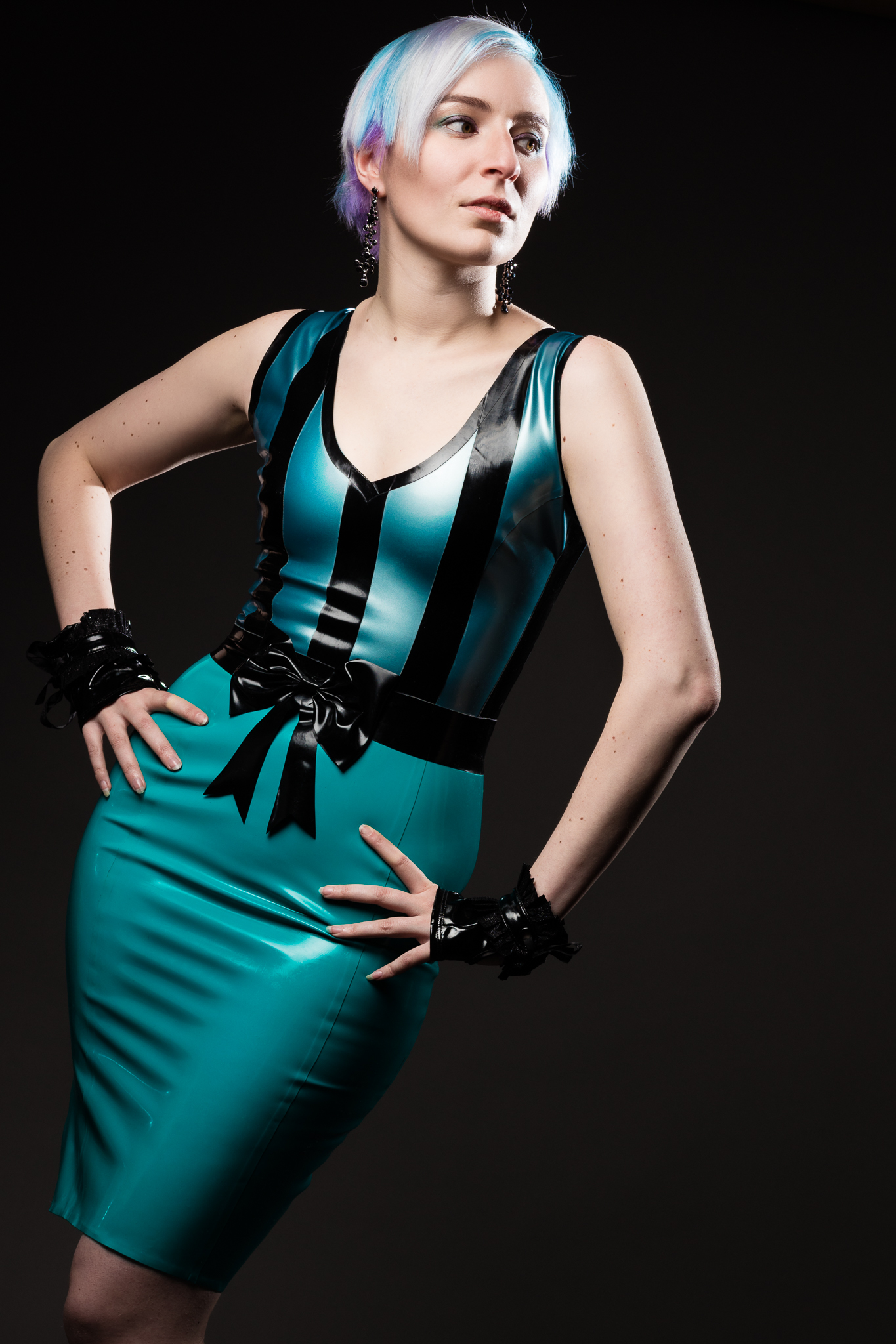 Anne Drake Wears Latex by Westward Bound