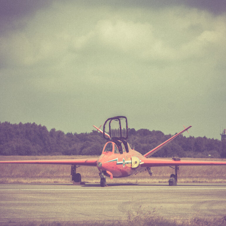 Fouga CM.170 Magister of the Red Devils