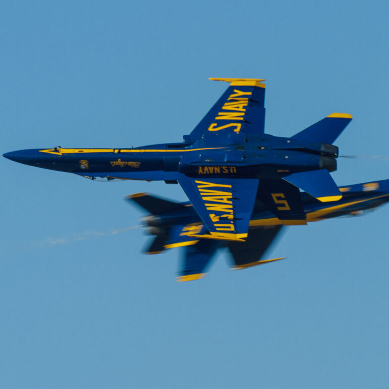 McDonnell Douglas F/A-18 Hornet of the Blue Angels