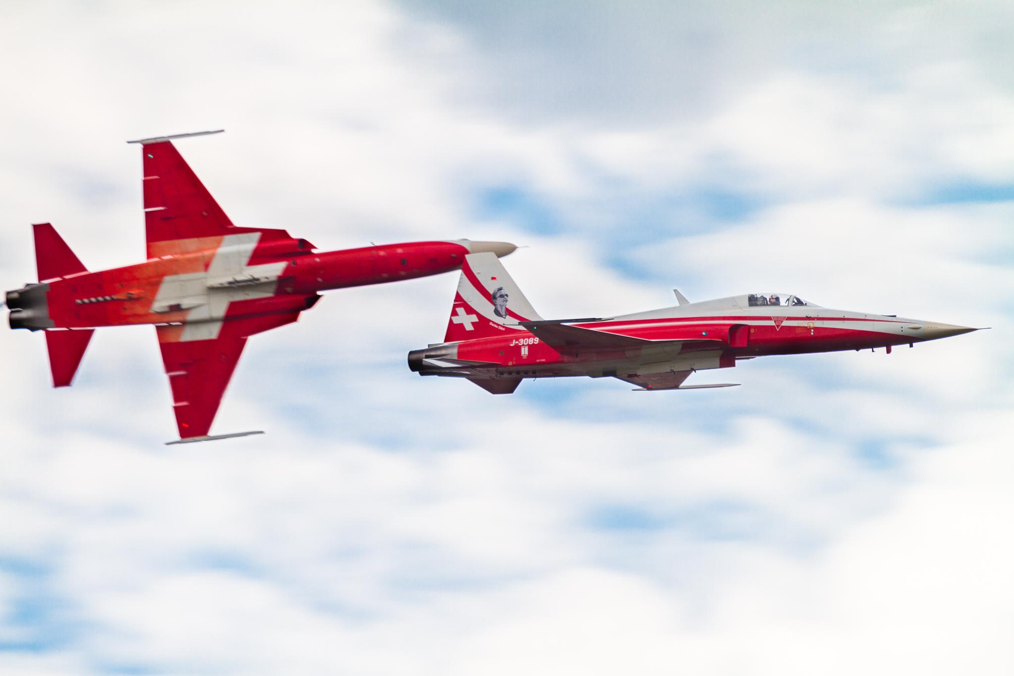 Northrop F-5 of Patrouille Suisse