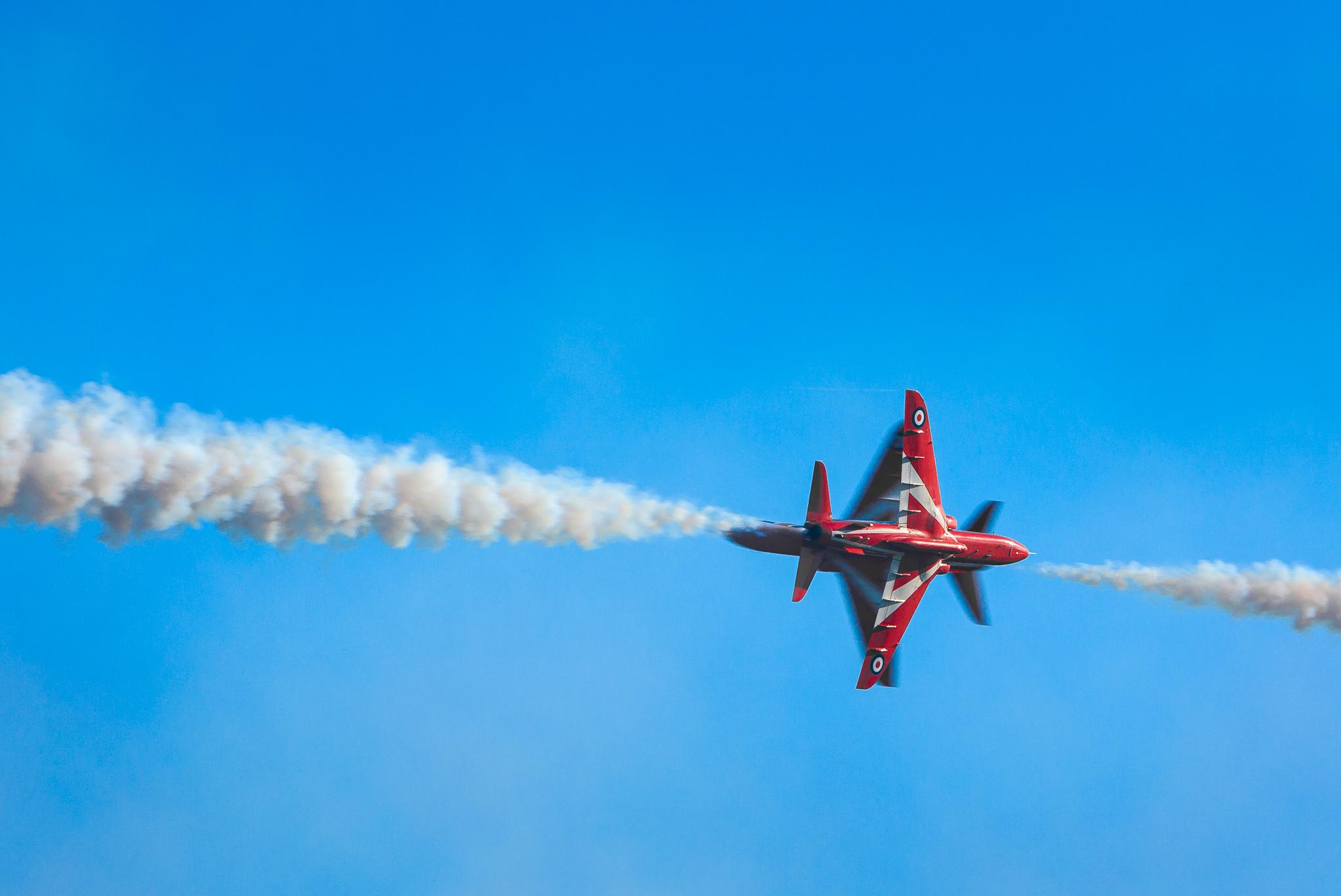 BAE Systems Hawk of the RAF Red Arrows