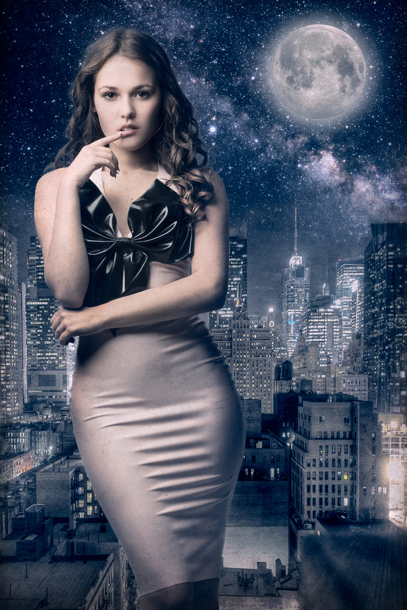 New York City Nights with Shannety in Latex