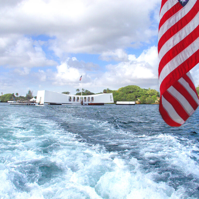 USS Arizona Memorial, Pearl Harbor, HI, USA