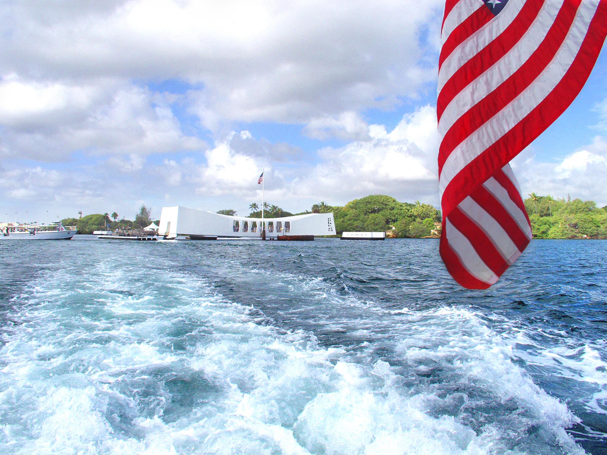 USS Arizona Memorial, Pearl Harbor, HI, USA