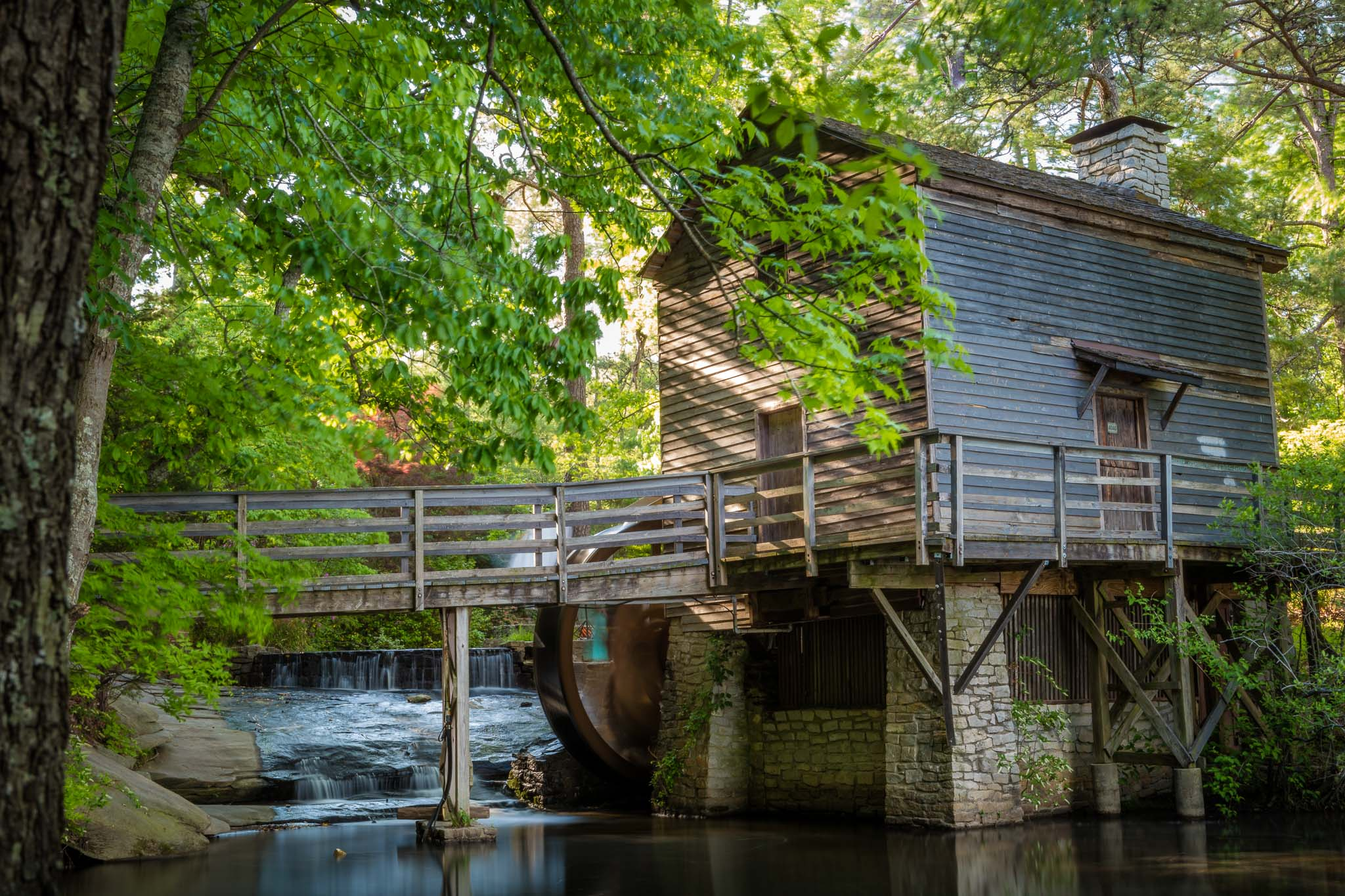 Gristmill at Stone Mountain Park