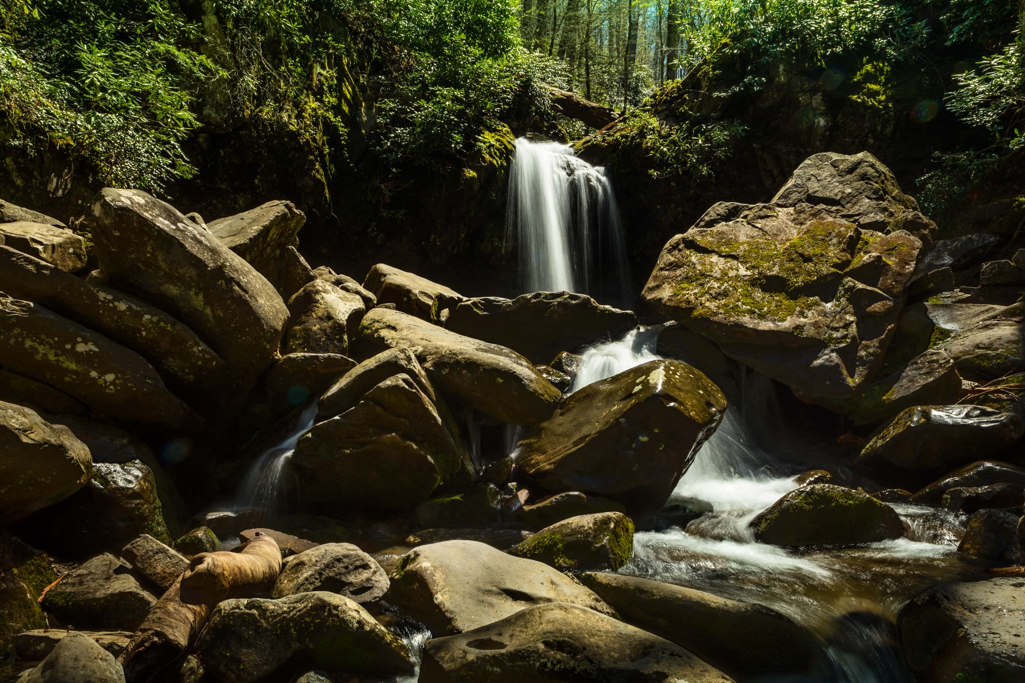 Grotto Falls at Great Smoky Mountain NP