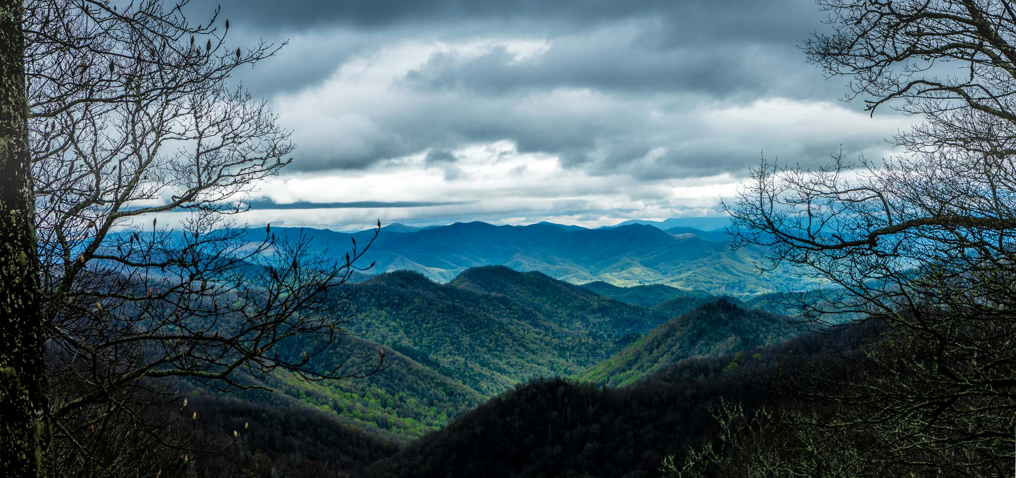 Scenic Views of Great Smoky Mountain NP