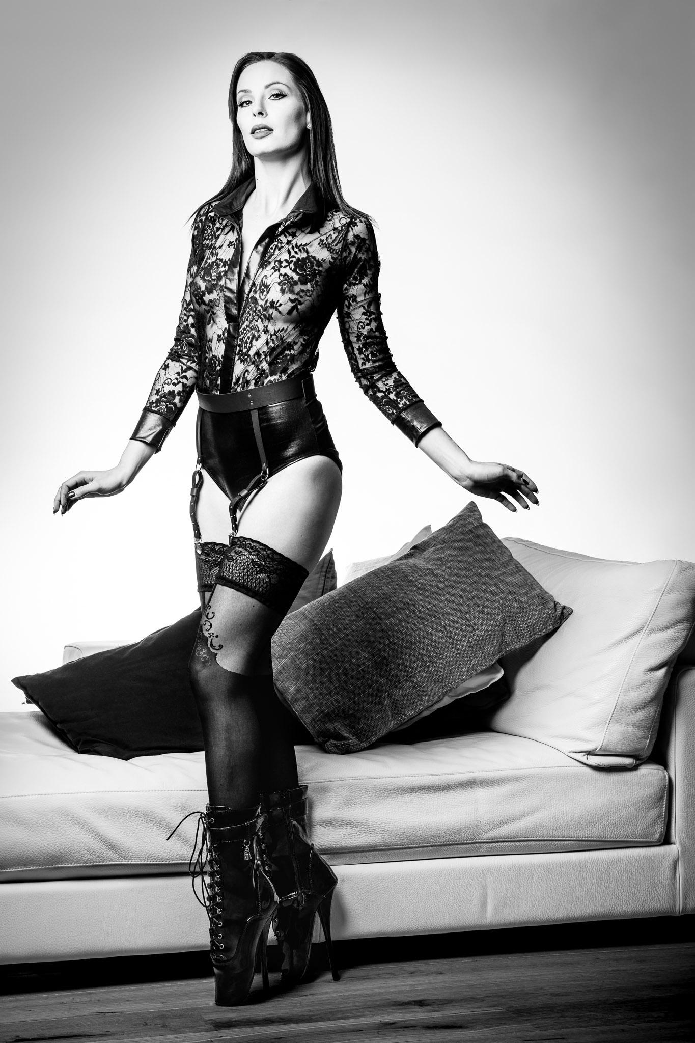 Ballet Heels & Gorgeous Lingerie
