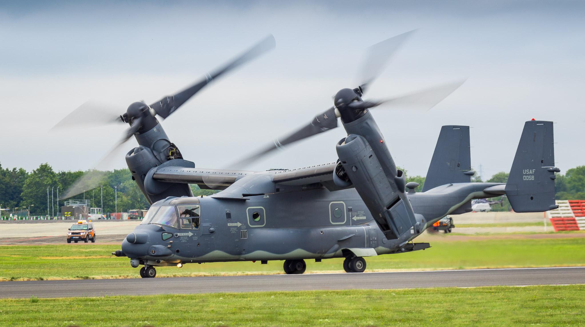 Bell Boeing V-22 Osprey at RIAT 2017
