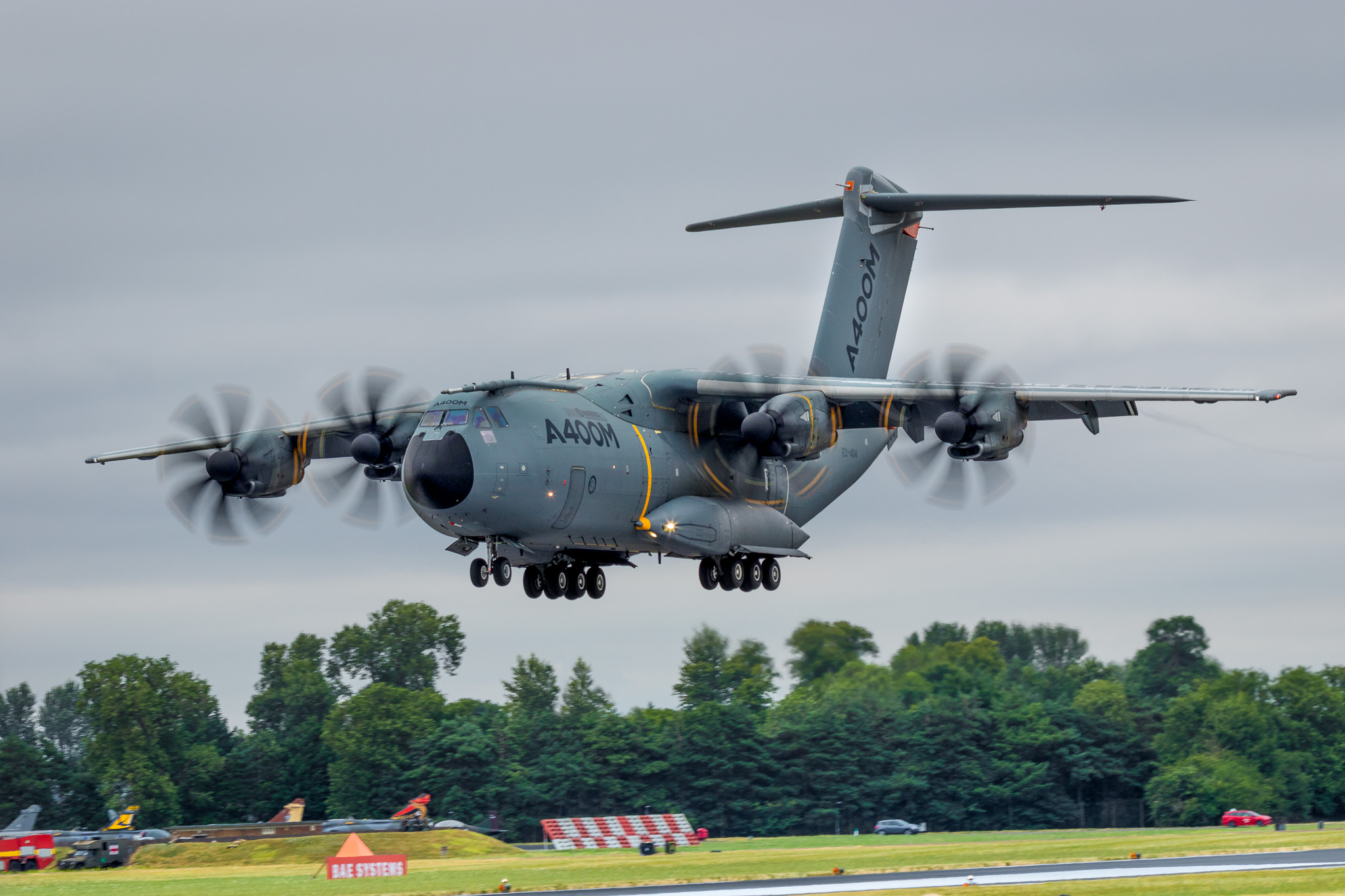 Airbus A400M Atlas at RIAT 2017