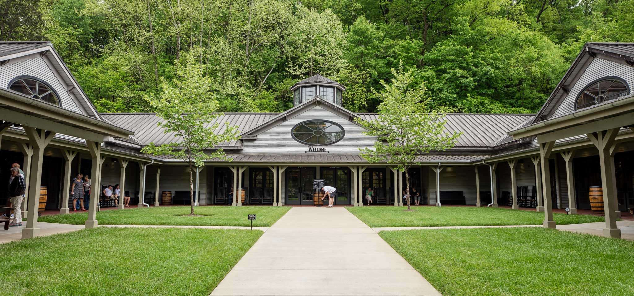 Jack Daniel's distillery in Lynchburg, TN