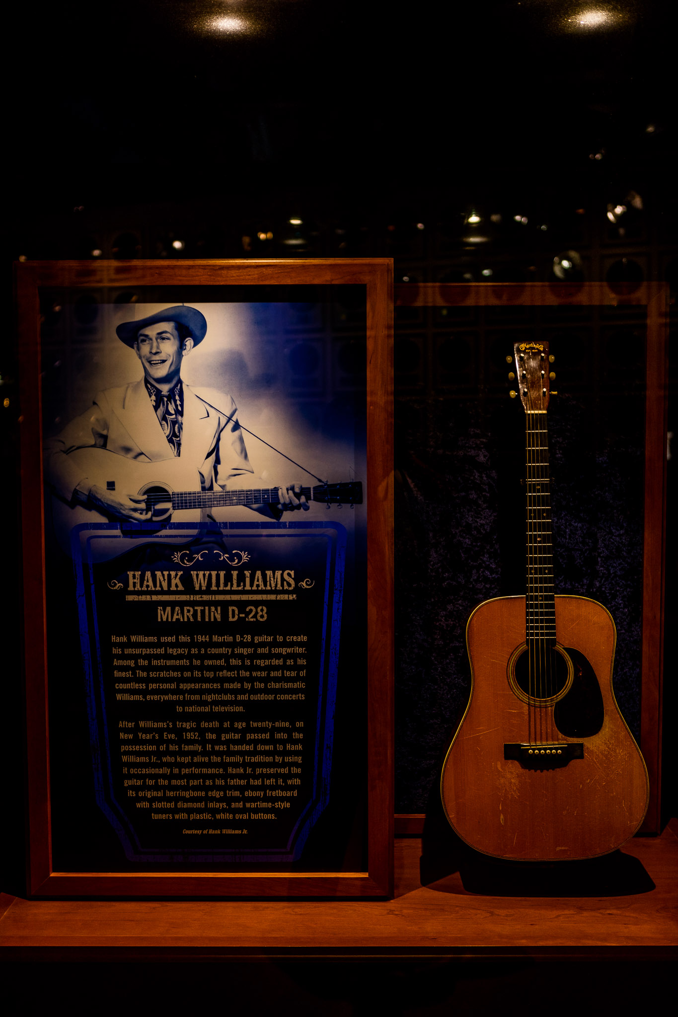 Gibson Guitar Belonging to Hank Williams at CMHOF