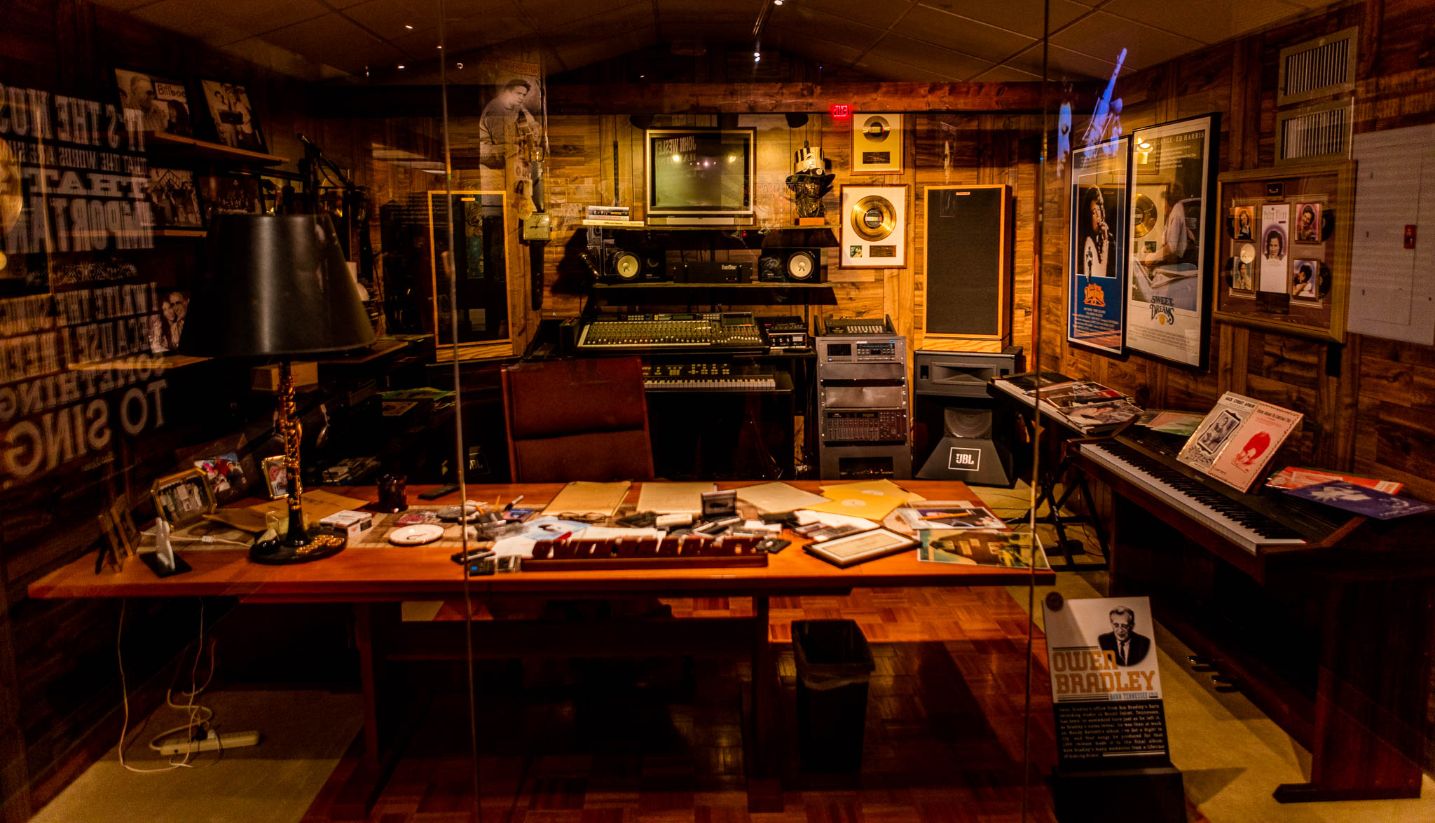 Owen Bradley's Recording Studio at CMHOF