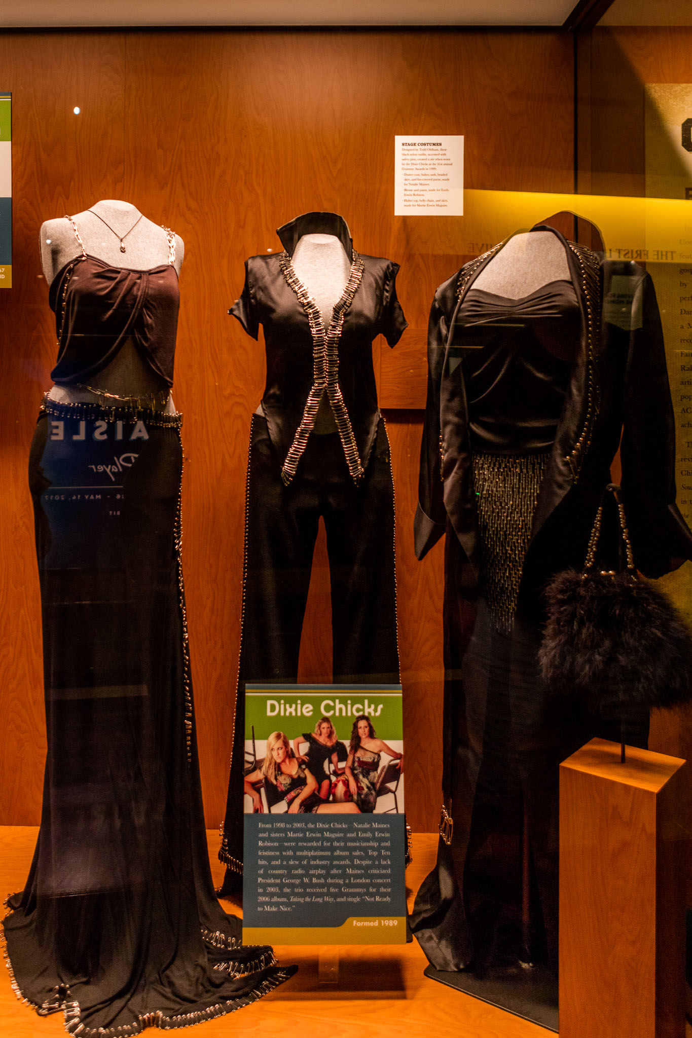 Dixie Chicks Wardrobe at CMHOF
