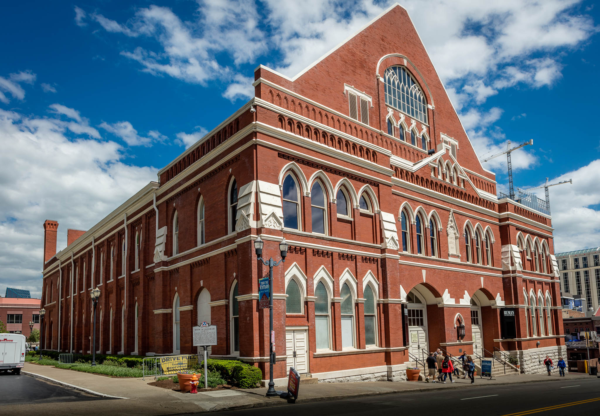 The Ryman Auditorium in Nashville