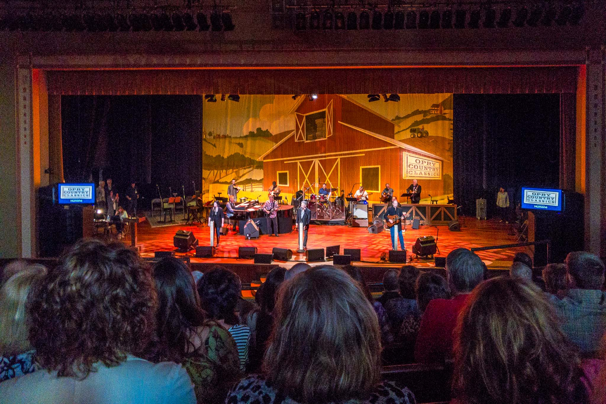 The Grand Ole Opry at the Ryman Auditorium