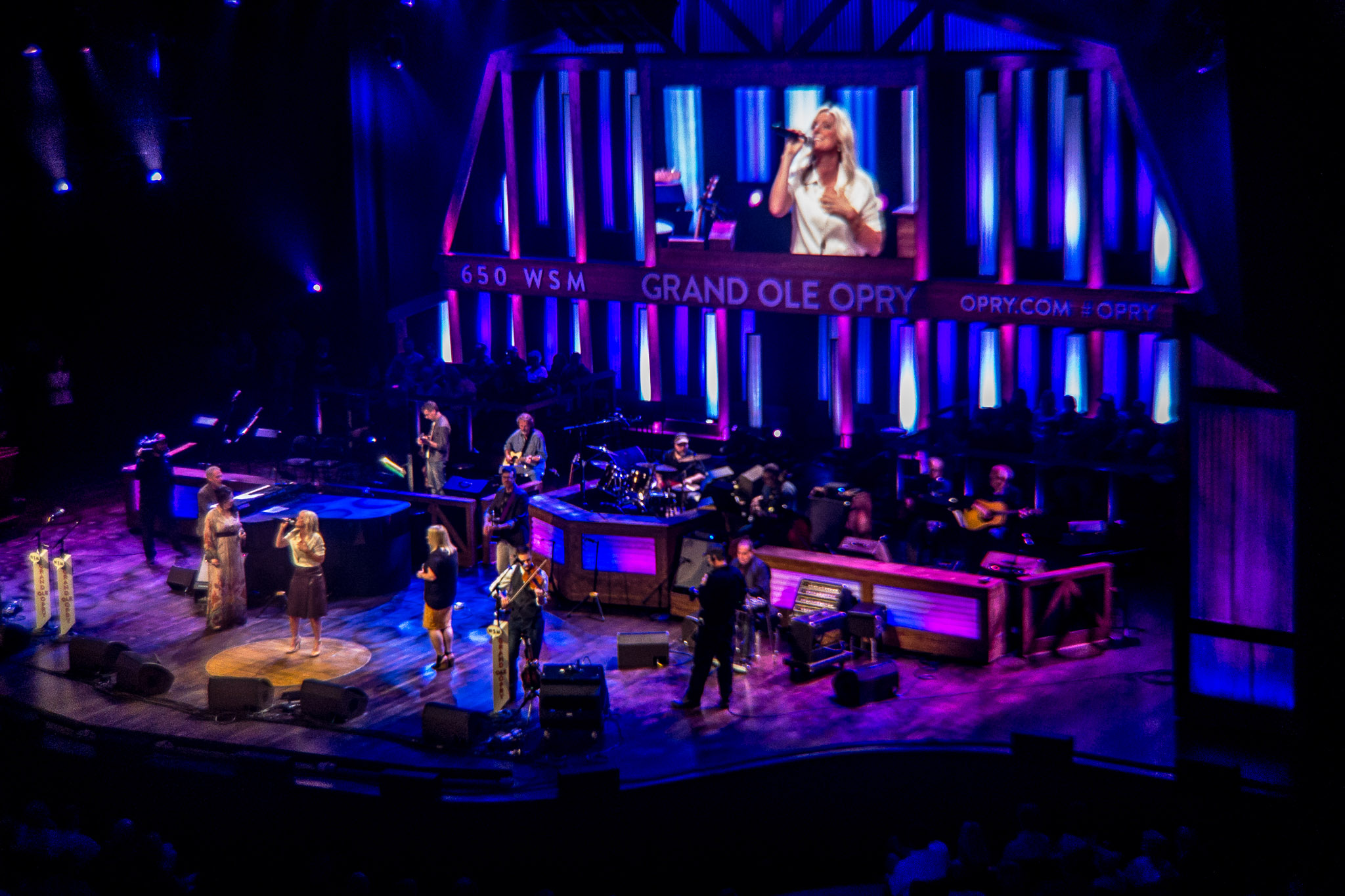 Artists Taking the Stage at the Grand Ole Opry House