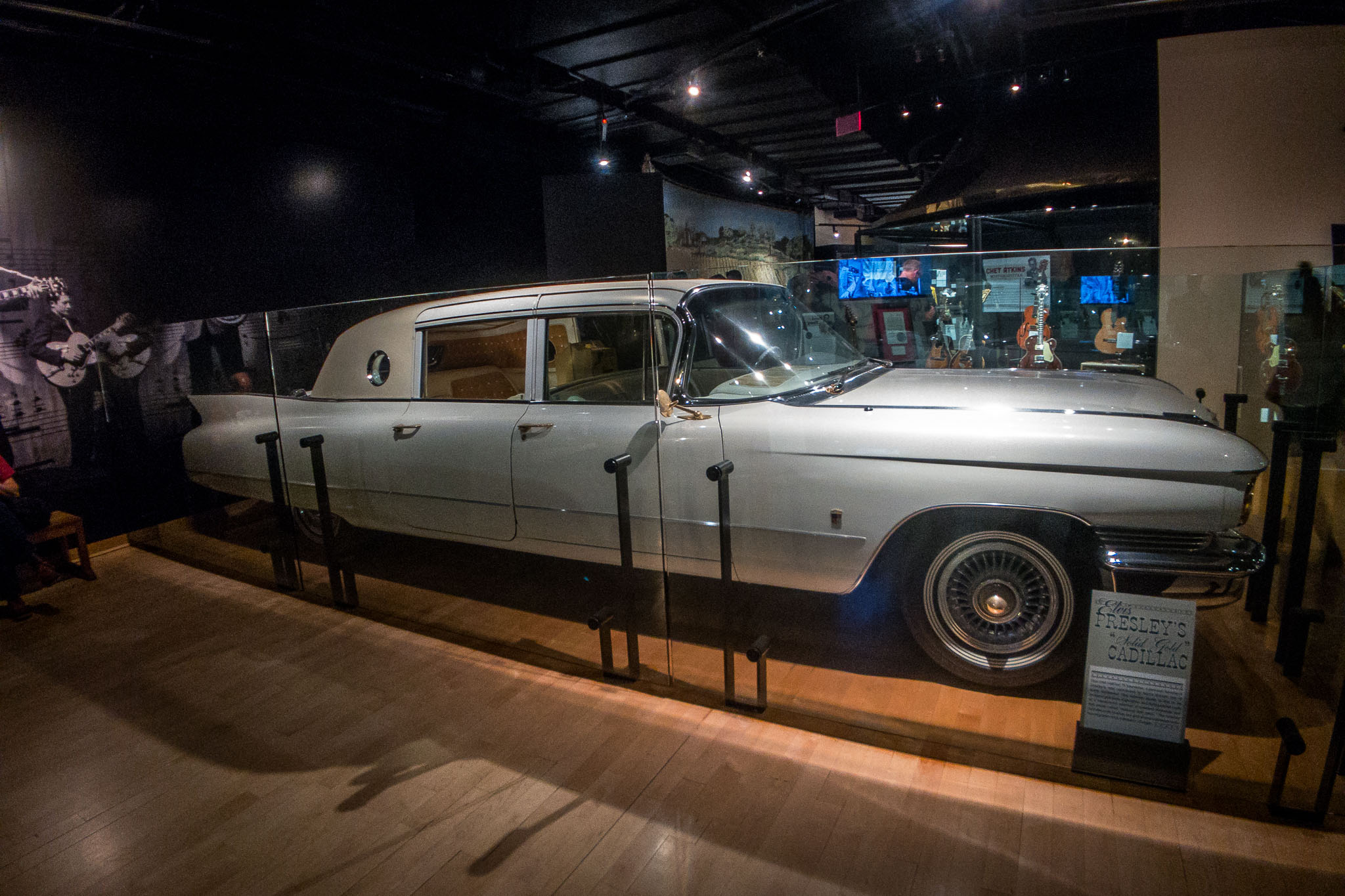 Elvis Presley's Solid Gold Cadillac at CMHOF