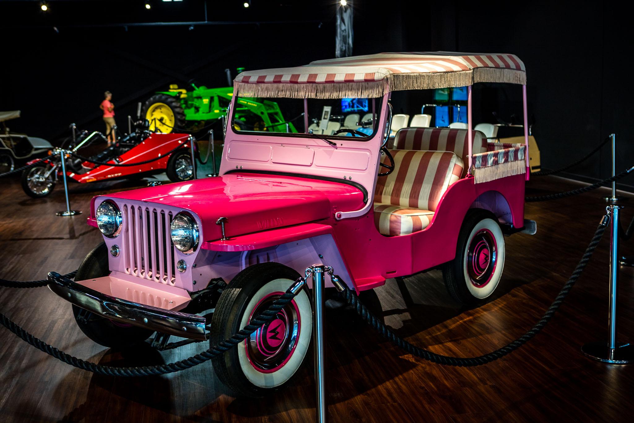 Elvis Presley's Pink Jeep