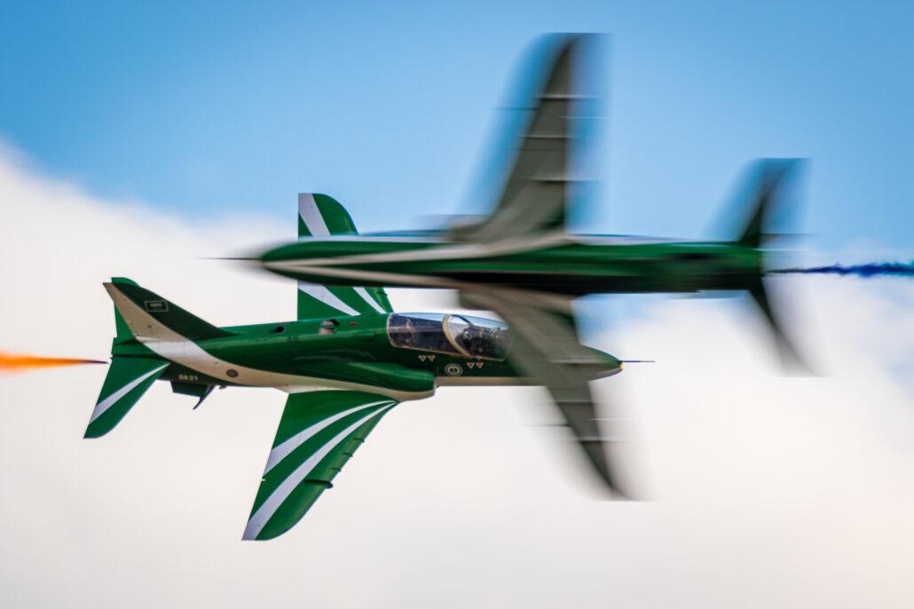 Saudi Hawks at 2017 Sanicole Air Show