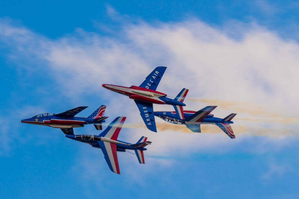 Patrouille de France at 2017 Sanicole Air Show