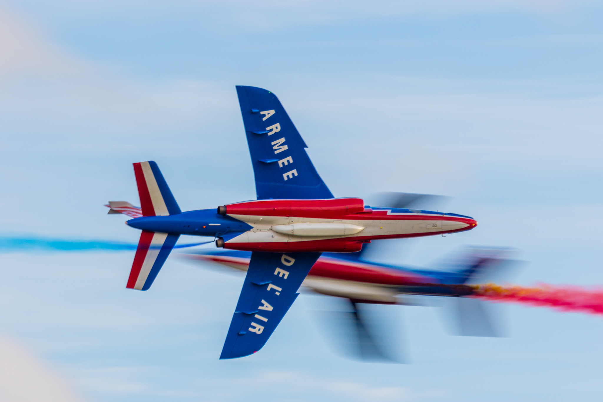 Patrouille de France at 2017 Sanicole Air Show