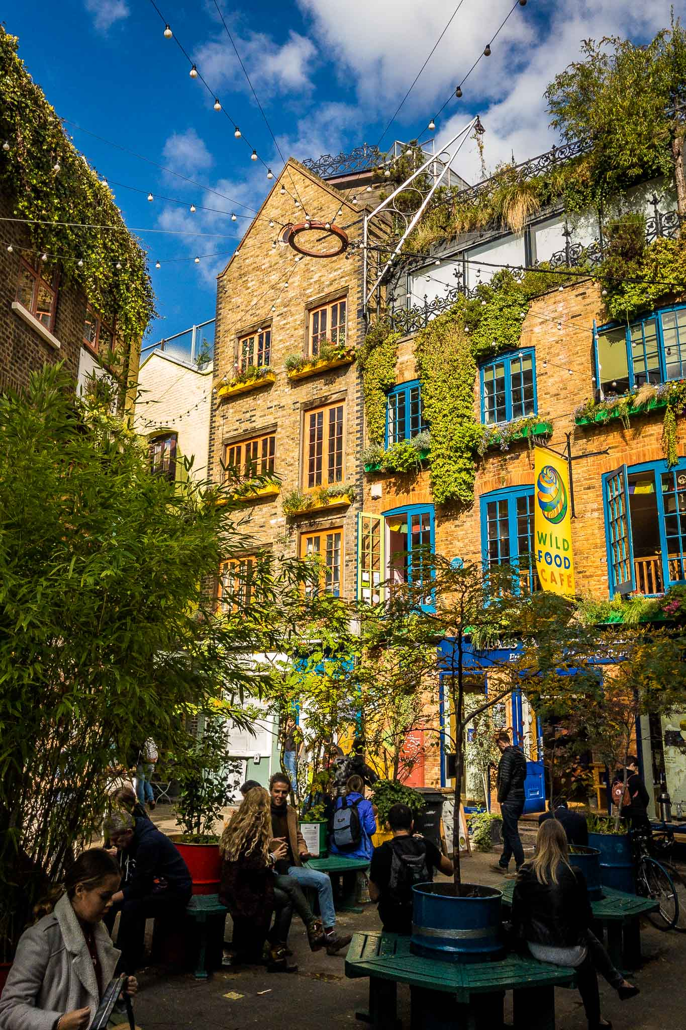 Neal's Yard near Covent Garden, London