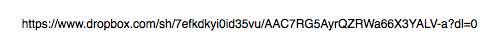 Sample Dropbox Link