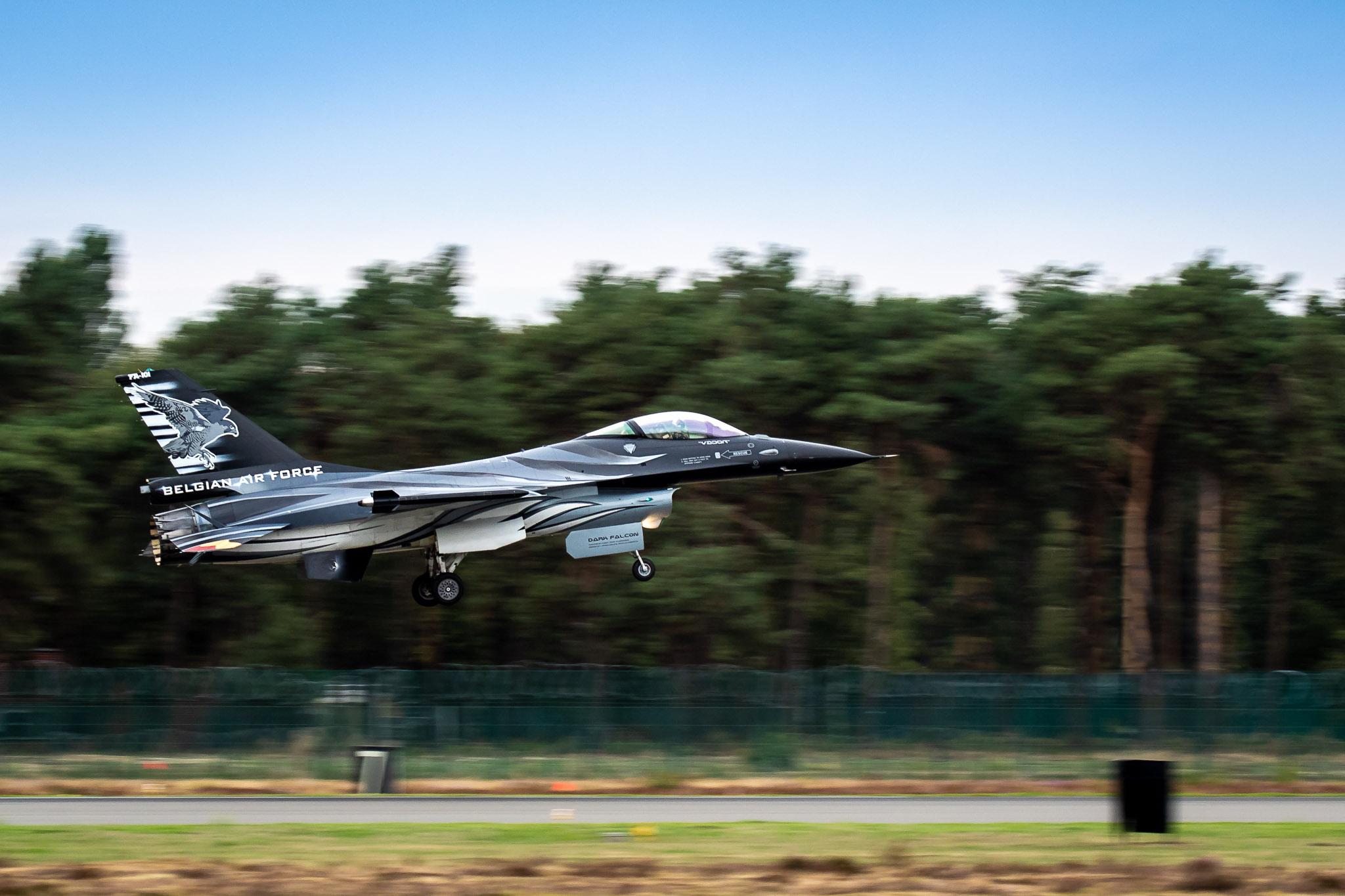 2018 F-16 Demo of BAF