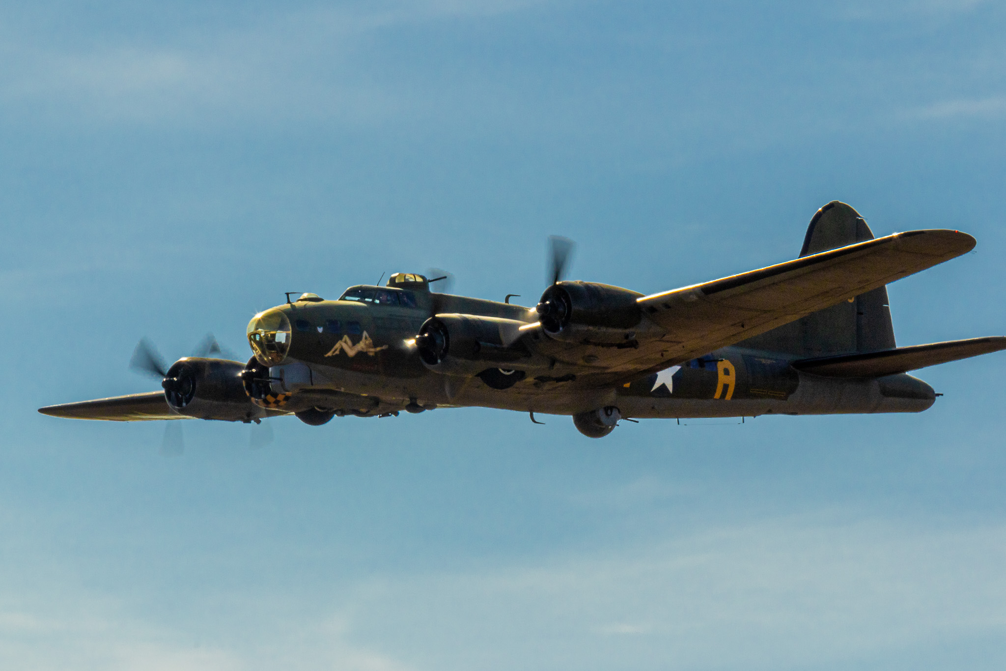 "Boeing B-17 Flying Fortress ""Sally B"""