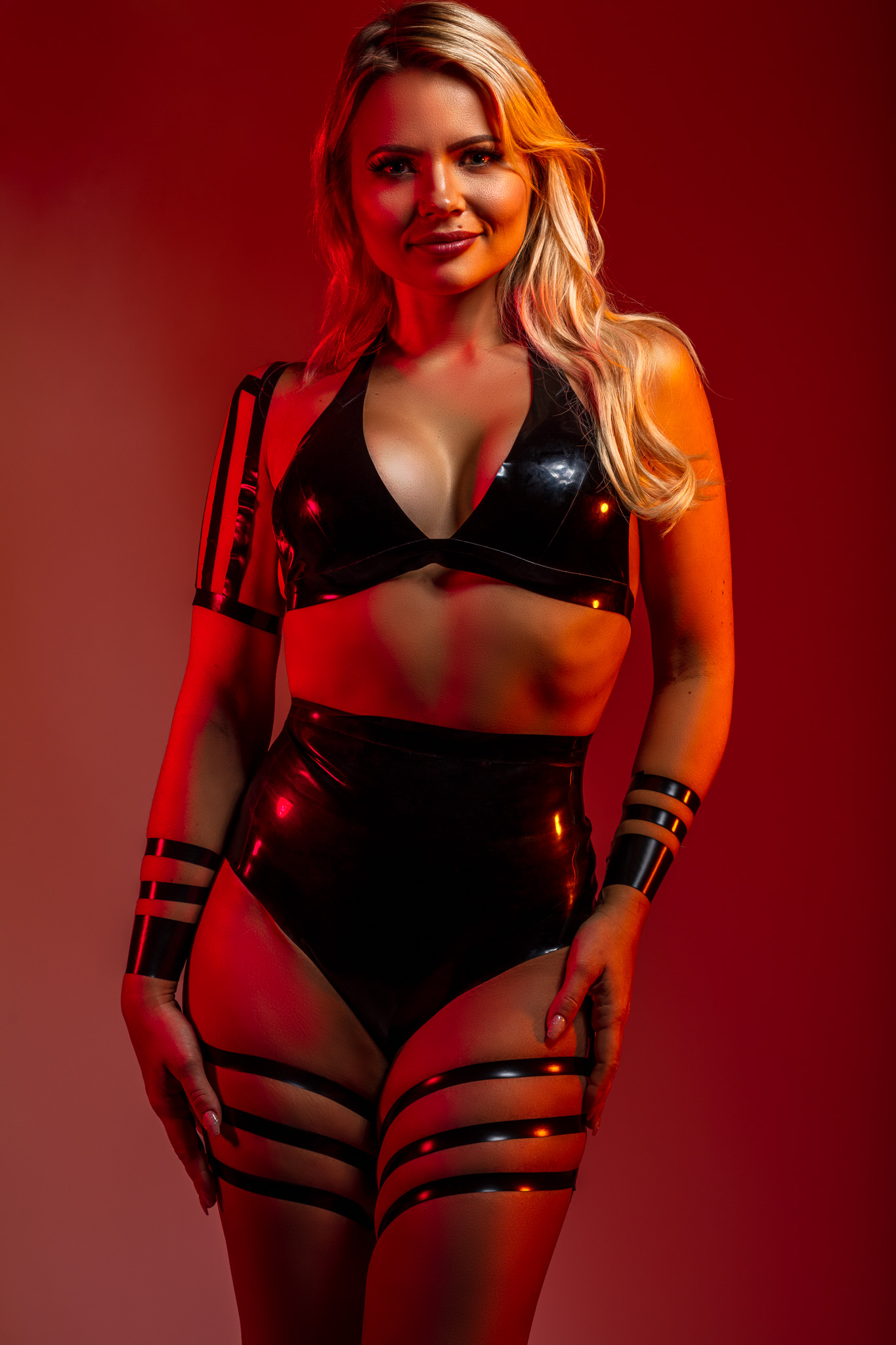Daria in Latex by William Wilde and #blacktapeproject