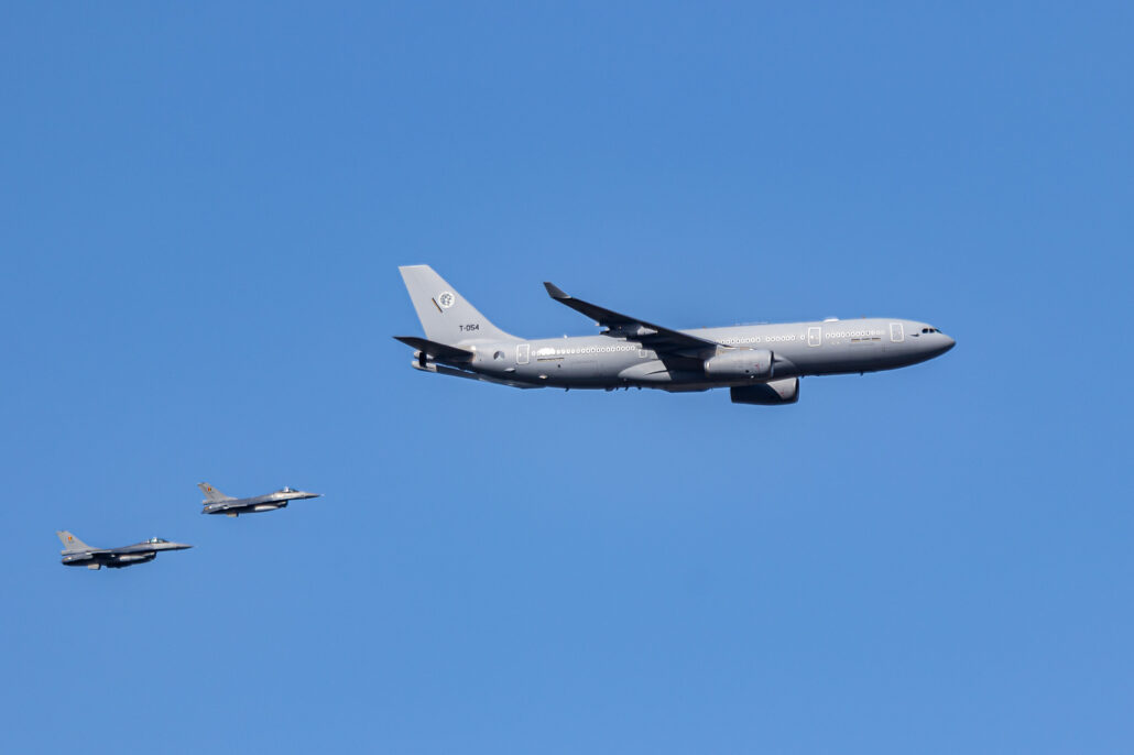 A330-200 MRTT Air-to-Air Refueling Plane of the Royal Dutch Air Force